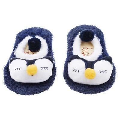0-12 Month Cartoon Newborn Baby Girl Boy Anti-Slip Socks Slipper Shoes Boots T