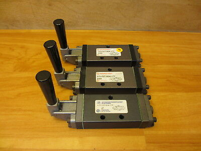 Norgren 375-02T-B04-17T Pneumatic Valve, Manual Control Automation Products NEW
