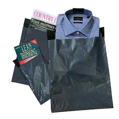 Grey Mailing Mail Bags Parcel Postal Self Seal Strong Poly Plastic ALL SIZES
