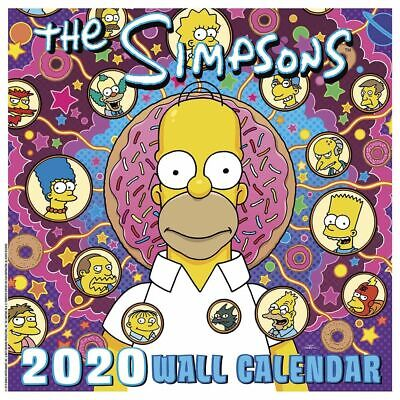The Simpsons Calendar 2019 Official Calendar by Danilo, Free Post 9781785496745