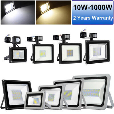 PIR Sensor LED Floodlight 1000W 500W 300W 150W 100W 50W 20W 10W Outdoor Lighting