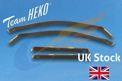 AUDI A4 B6 B7 Avant Estate 5-doors 2002-2009 4-pc Wind Deflectors HEKO Tinted