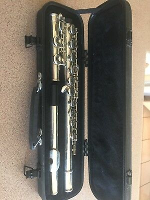 FONTAINE FLUTE SILVER. Brass and Woodwind FREE POST