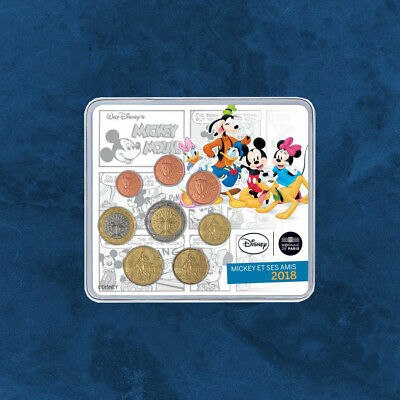 Frankreich - Mickey Mouse and friends - KMS 2018 BU 3,88 Euro - Disney