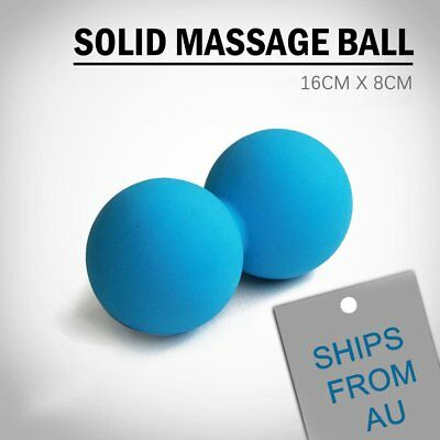 Peanut Lacrosse Ball Solid Mobility Massage Ball Myofascial Trigger Point Relax@