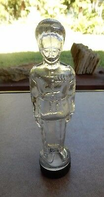 Vintage British Soldier Shaped Figural Bottle