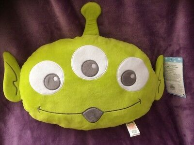 Disney Toy Story Green Alien Large Cushion New From Primark