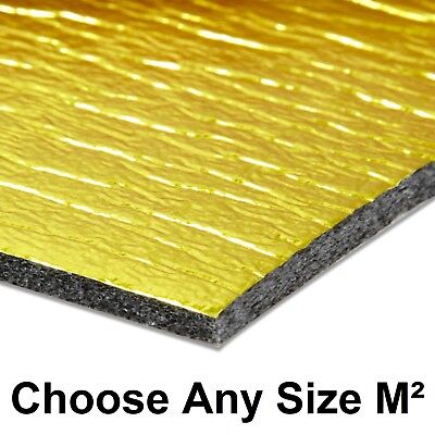 5mm Sonic Gold Underlay For Wood or Laminate Flooring Acoustic & Heat Insulation