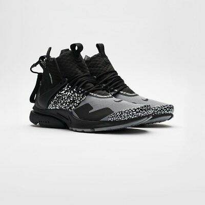 detailed look ffb2f e4f3b Nike NikeLab Air Presto Mid Acronym NRG AH7832-001 Cool Grey Black Limited 7