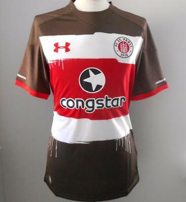 FC ST PAULI Under Armour Home Shirt 2017-2018 NEW Jersey Heim Trikot 17/18