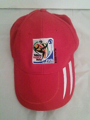 South Africa 2010 FIFA World Cup Red Adjustable Baseball Cap