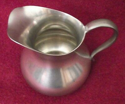 "Vintage KMD Daaldrop Royal Holland Pewter Pitcher / Creamer 4"" Tall"