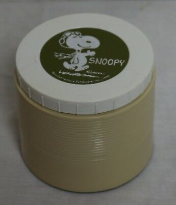 Vintage Snoopy Lunchbox Thermos - 1969 Red Baron