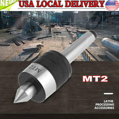 MT2 Precision Rotary Live Revolving Milling Center Taper Metal Work Lathe Tool H