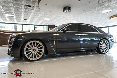 2011 Rolls-Royce Ghost  2011 Rolls-Royce Ghost 4dr Sdn WALD  BLK BISON EDITION, $325,000 MSRP