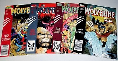 Wolverine Saga #1 #2 #3 And #4 Of 4   Complete Set Of Graphic Novels