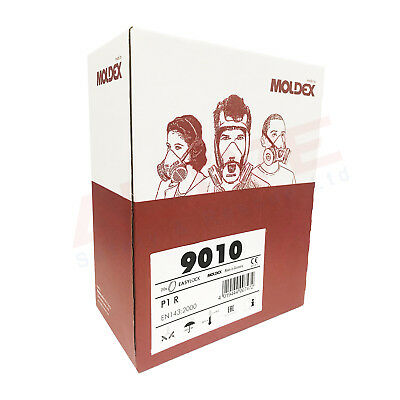 Moldex Easylock Filter 9010 P1 R Particulate for Mask series 7000 and 9000 - BOX