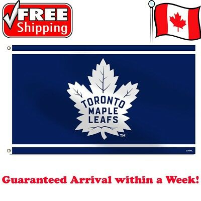 Toronto Maple Leafs Flag 2018 NHL Banner 3 x 5 ft High Quality 2 Grommets NEW