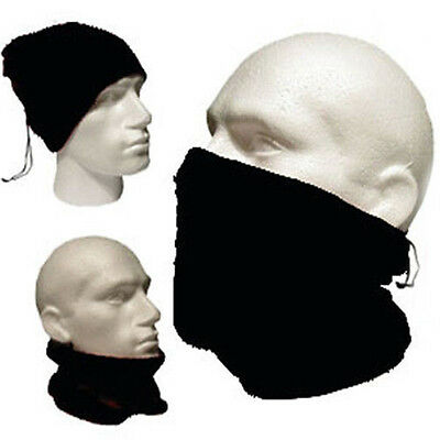 Men Women Snood Scarf Ski Balaclava Neck Winter Warmer Face Mask Beanie Hat USA
