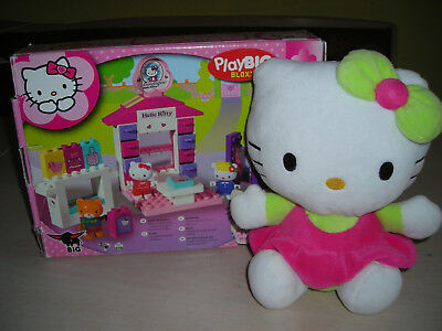 Hello Kitty Stoff Figur und Play Big Bloxx Set (Lego)