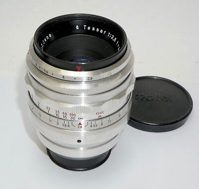 Carl Zeiss Jena 80mm f/2.8 Tessar for Exakta.