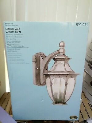 Hampton Bay Transitional Collection Exterior Wall Lantern Light 3 Candelabra