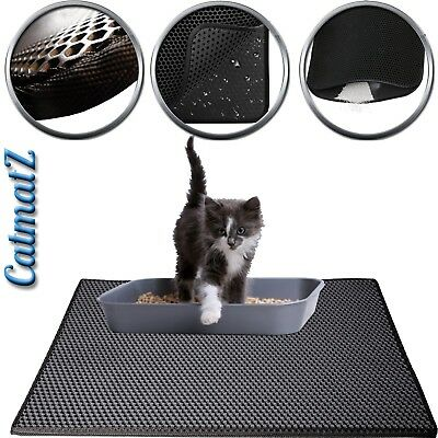 Cat Litter Trapping Mat Double-layer Large Waterproof Bottom Layer Honeycomb EVA