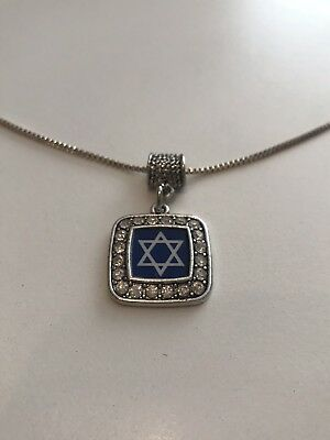Star of David Pendant on Silver 925 Chain