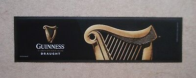 Guinness Draught Rubber Backed Bar Runner Pub Home Bar Man Cave New Unused