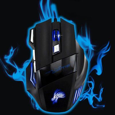 E-sports game wired optical mouse NS