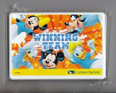 DISNEY Children's Inflight Game WINNING TEAM NOS SEALED Cathay Pacific Airlines