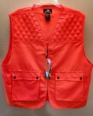 f3b2c8a2892c1 NEW Mossy Oak Zippered Front Blaze Orange Hunting Safety Vest Size 2XL/3XL