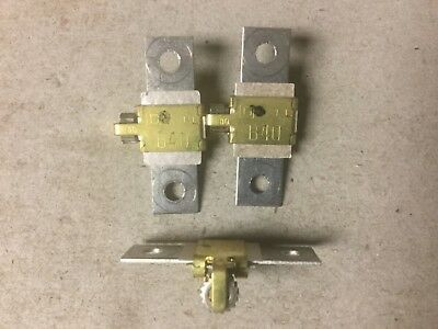Square D  B40  Overload Relay Thermal Unit-Lot of 3