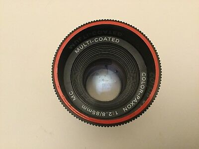 Color paxon multi coated Projector lens