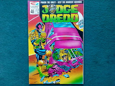 Judge Dredd Fleetway Quality Comic No 46
