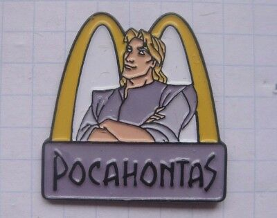 M /  POCAHONTAS / DISNEY .............Comic Mc DONALD`s -Pin (157f)
