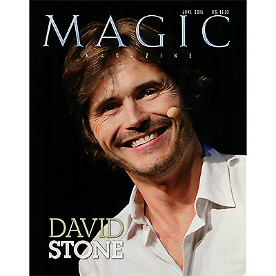"Magic Magazine ""David Stone"" June 2015 - Book"