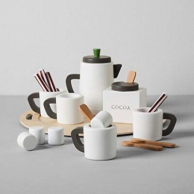 Hearth and hand with Magnolia Wooden 19 pc Hot cocoa set