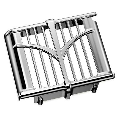 Kuryakyn - 5640 - Chrome Oil Cooler Cover 2014-2017 Indian