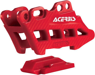 Acerbis - 2410960004 - Red Chain Guide Block 2.0 2007-2015 Honda CRF450R/250R
