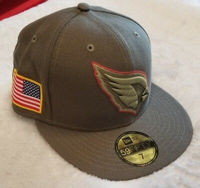 8f86fb67930271 ... netherlands new era arizona cardinals salute to service 59fifty nfl  football fitted hat sz 7 b5805
