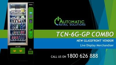 TCN-6G-GP  - Combo vending machine  - Fresh Food, Snack and Drink