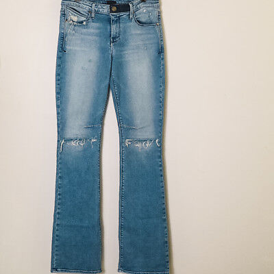 32ec70bfe9555d RTA Road to Awe Jackson Blue Wash Jeans Women's Size 27 Made in Los Angeles
