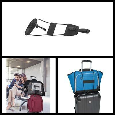 One Size Bag Bungee Black Outdoor Travel Luggage bag Holder Strap Secure Tie NEW
