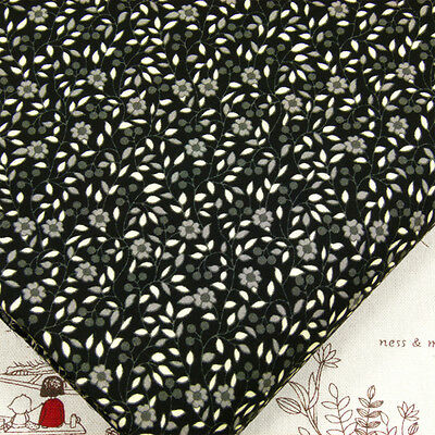 Retro Mini Flower Printed Cotton Fabric Dress Quilting Patchwork FabricTime VK3