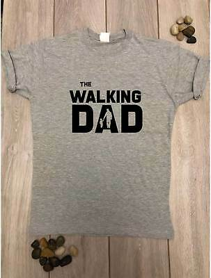 The Walking Dad Parody T shirt Father Son Fathers Day Mens Tee Movie inspired
