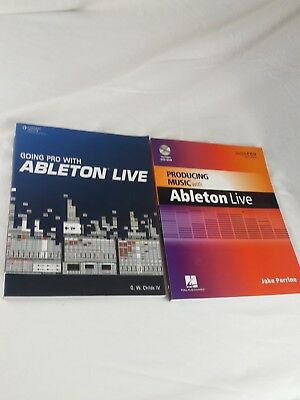 Producing Music and going pro with Ableton Live Book DVD-Rom SEALED Learn how to