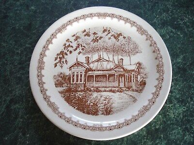 Display  Plate ~ Heritage ~ By Crown Lynn ~  Made In New - Zealand