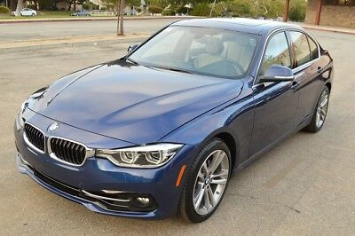 2017 BMW 3-Series Sport 2017 BMW 330i LED! Navi! Leather! Premium Pck! LOADED! PRICED TO SELL!