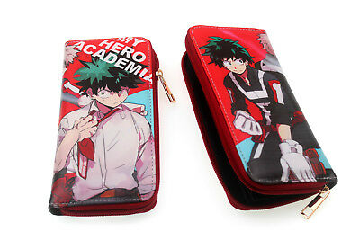 My Boku No Hero Academia Wallet Leather Pu Purse Coin Short Wallet Otaku Gift #2